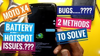Moto X4 Android Oreo Bugs All Problems Fixed (2 Methods)| HINDI |