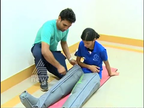 Recovery Boot for athletes in National School Sports Meet 2016