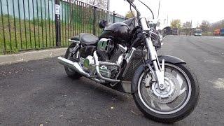 Обзор мотоцикла Honda VTX 1800!!!
