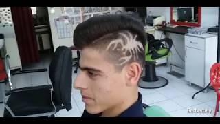 Akrepli Saç kesimi   Scorpion Haircut   Berberbey