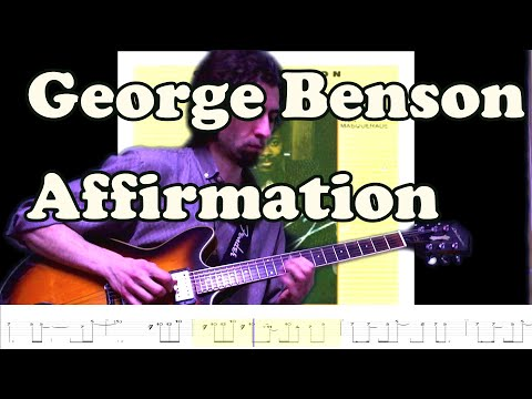 George Benson  Affirmation Transcription  Tab and playalong track in description