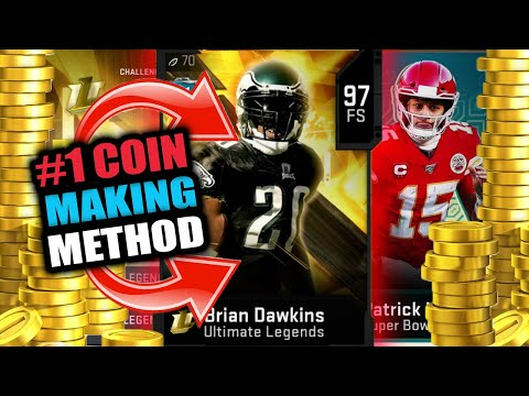 #1 COIN MAKING METHOD IN MADDEN 20! MAKE AN INSANE AMOUNT OF COINS! NO RISK!   MADDEN 20