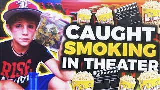 Download Video Caught Smoking at the Movie Theater MP3 3GP MP4