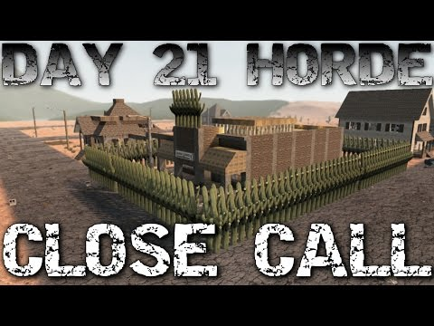 Alpha 15 7 Days To Die Let's play Episode 13: Close call