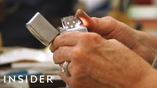 How Zippo Lighters Are Made | The Making Of