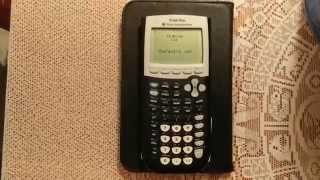 How to Reset Your TI-84/83/82/85/86 Calculator to default settings