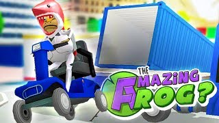 AMAZING VEHICLE STUNTS IN AMAZING FROG!  - Amazing Frog Gameplay - Amazing Frog Magic Toilet