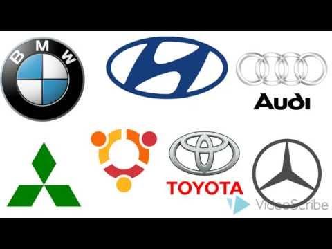 Как рисовать логотипы автомобилей, how to draw a logo auto