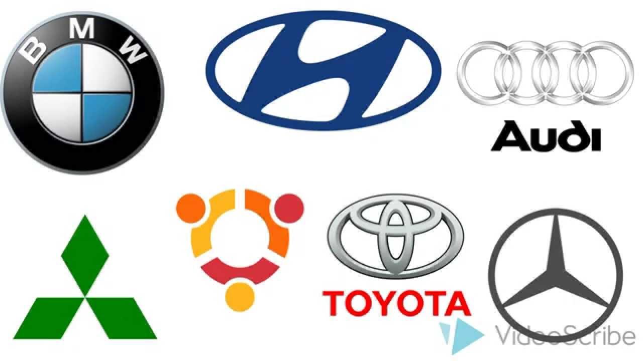 Как рисовать логотипы автомобилей, how to draw a logo auto ...