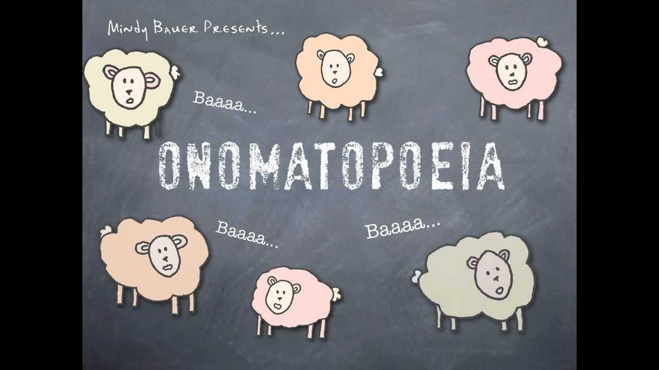 small resolution of Onomatopoeia - YouTube