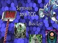 [YuGiOh]- TCG September 2018 Ban List