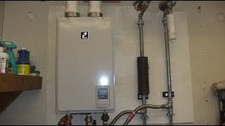 Installing the new Takagi T-H3M-DV-N Tankless Water Heater