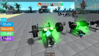 Roblox timelapse Weight Lifting Simulator 3