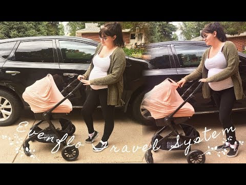 Evenflo Pivot Travel System Review   n a l a s t a s i a