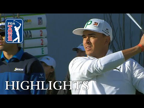 Rickie Fowler's extended highlights | Round 1 | Waste Management