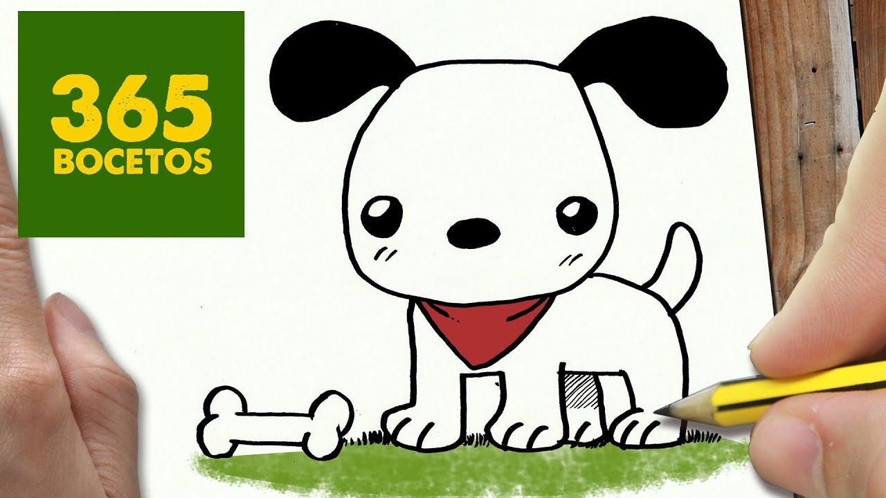 Como Dibujar Un Perro Paso A Paso Os Enseñamos A Dibujar Un Perro