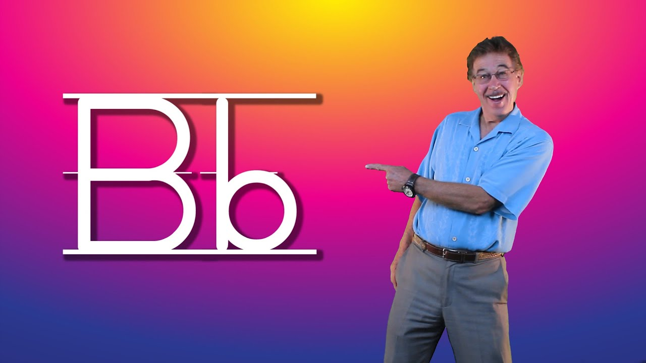 Learn The Letter B Lets Learn About The Alphabet Phonics Song