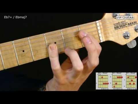 Ebmaj7 Guitar Chord Chordsscales