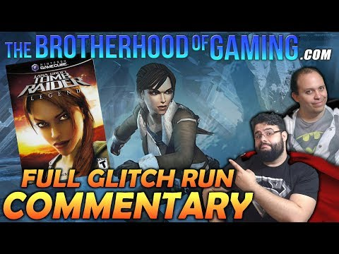 Tomb Raider: Legend // Commentary // (GameCube)