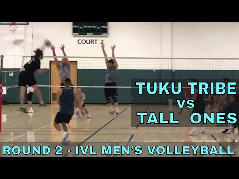 Tuku Tribe vs Tall Ones Round 2  IVL Mens Open 2018 Volleyball League 8218