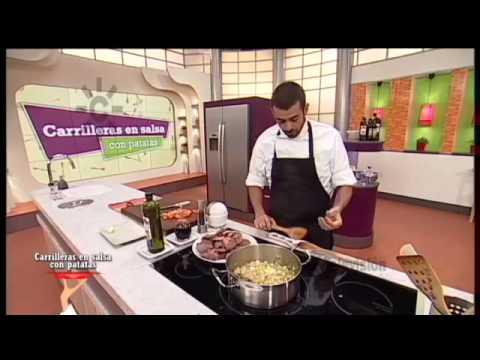 Receta: carrilleras en salsa con patatas