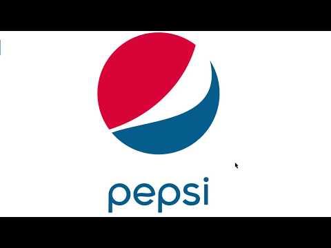 Tutorial - How to create: Pepsi Logo using CorelDraw.