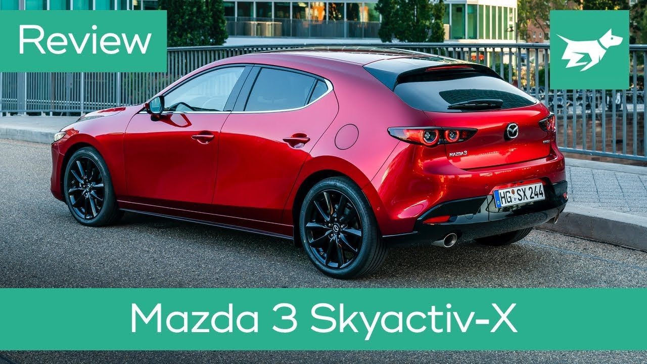 Mazda 3 Skyactiv X 2020 Review