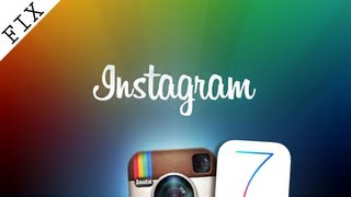 Fix Instagram Crash on IOS 7 BETA