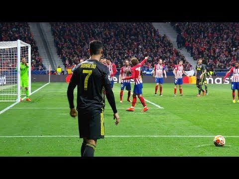 Cristiano Ronaldo Goals where Goalkeepers Don't Move