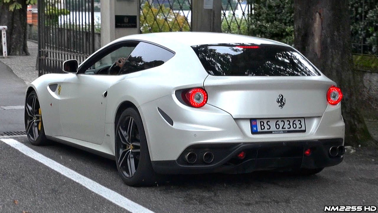 Ferrari 458 Italia Wallpaper Hd Ferrari Ff With Novitec Rosso Exhaust Insanely Loud Sound