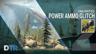 Destiny 2: UNLIMITED POWER AMMO GLITCH