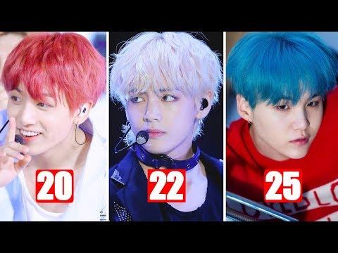 BTS Jungkook Vs BTS V Vs BTS Suga Childhood/Transformation From 1 To 25 Years Old