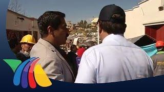 Hechos - Javier Alatorre desde la Zona Cero en Cuajimalpa | Noticias
