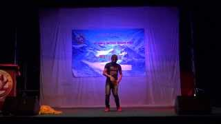 Ghas katne khurkera  (Dance by Robin) Koh Samui Thailand 2014