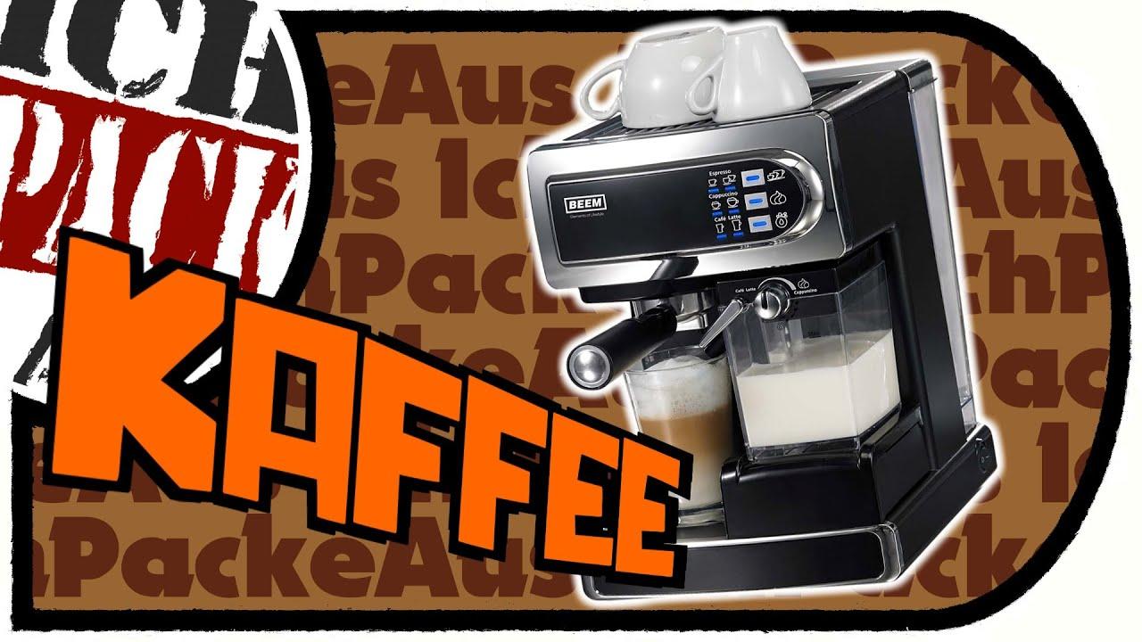 beem i joy caf espresso siebtr germaschine mit milchaufsch umer unboxing marathon part 07. Black Bedroom Furniture Sets. Home Design Ideas
