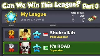 What Happens When Level 476 Appears while You are TOPPING DIAMOND LEAGUE - Part 3 of 3 - 8 Ball Pool