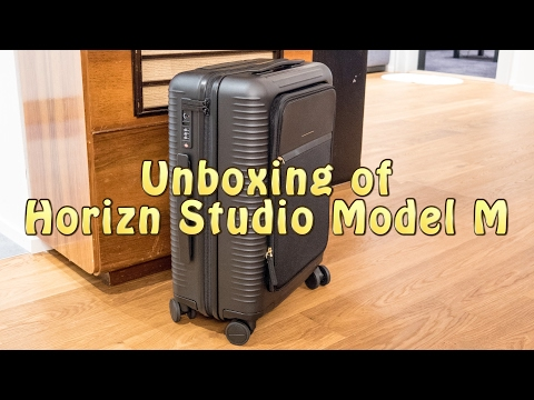 Unboxing of Horizn Studio Model M Cabin Trolley | Holidays & More