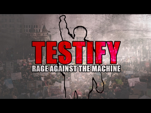 Testify -- Rage Against The Machine [Dark Synth-Rock Cover] Ft. Curious Quail