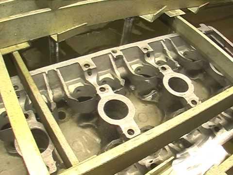 Опрессовка головки блока цилиндров 11