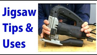 Jigsaw Use & Tips -  Beginners #22   A Woodworkweb Video