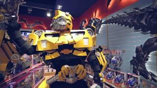 Уникальное шоу трансформеров в детском магазине! HD