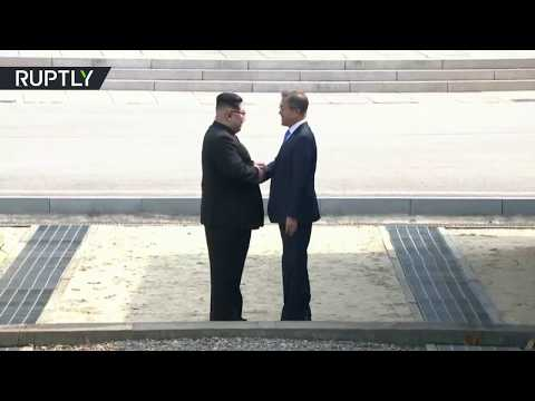 'A new history starts now': Leaders of two Koreas meet for 1st time in more than decade