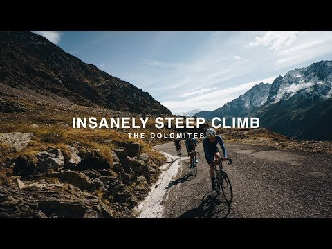 THE STEEPEST CLIMB IN THE ALPS?!