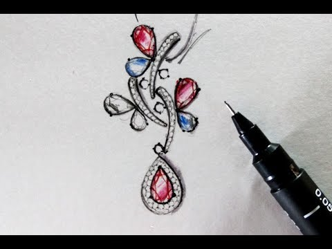 How to Draw jewelry Designs  Basic Concepts by Art Jewellery Design YouTube.