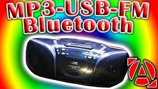 Встраиваю MP3 с Bluetooth в  JVC