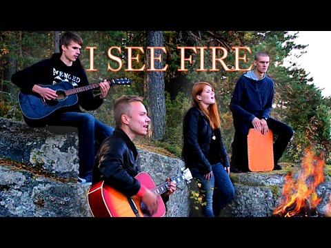 Ed Sheeran - I See Fire (BAND COVER by Four of Hearts)