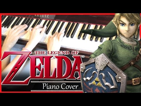 The Legend of Zelda - Main Theme Piano Cover (4 Hands) - Sheet Music