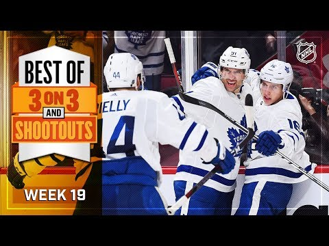 Best 3-on-3 OT and Shootout Moments from Week 19