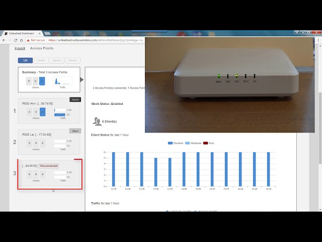Configuring Zero Touch Mesh with Unleashed User Interface