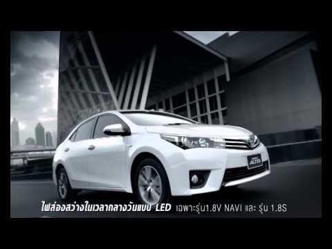 """โฆษณาตัวเต็ม All New Toyota Corolla Altis 2014 """"SO EXCITED"""" TVC CM in Thailand 30Sec"""